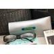 etiquette autocollant design simple rectangle moyen format senior etui lunettes
