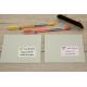 Pack autocollants etiquette adresse livres