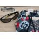 Pack colonie etiquette autocollante thermocollante lunettes et short