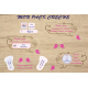 Pack creche etiquette thermocollante autocollante affaires enfants
